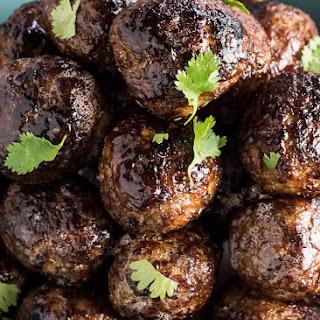 Lemongrass Vietnamese Meatballs.