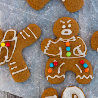 Gluten Free Vegan Ninjabread Men (Dairy Free, Egg Free, Gingerbread Cut Out Recipe) Recipe