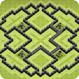 Maps of Clash of Clans 2017 apk
