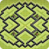 Maps of Clash of Clans 2019