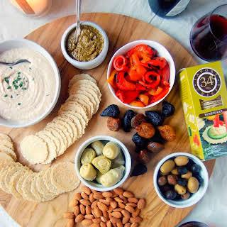 Mediterranean Appetizer Plate.