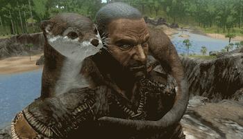 カワウソ ark 餌 Otter - ARK_Survival_Evolved