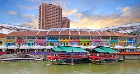 Restaurants in Clarke Quay, Singapore
