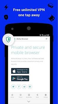 Aloha Browser and Downloader