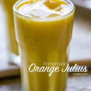 Homemade Orange Julius Smoothies Recipe