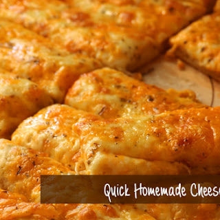 Quick Homemade Cheese Bread