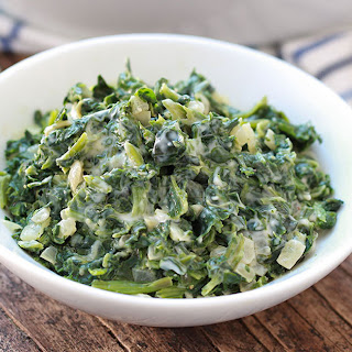HG's Dreamy Creamed Spinach.
