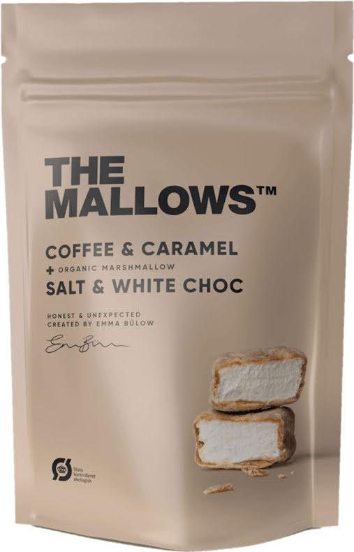 Coffe & Caramel – Marshmallow, kaffe, choklad, karamell och flingsalt – The Mallows