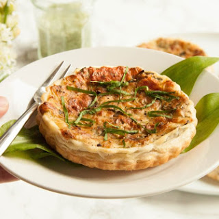 Wild Garlic Quiche