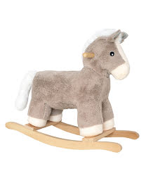 IN STOCK 2021-Plush rocker horse