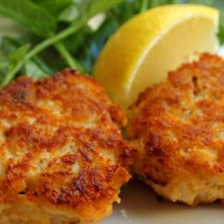 Sinful Bayou Crab Cakes.