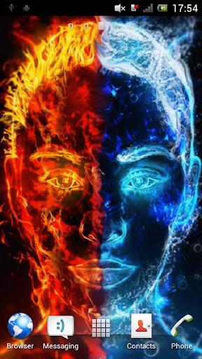 Double face Live Wallpaper