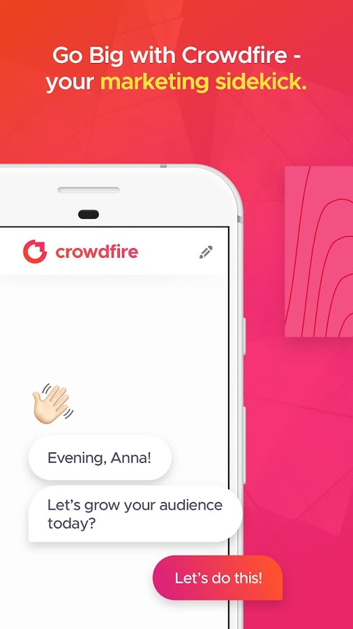 Crowdfire - Go Big Online- screenshot