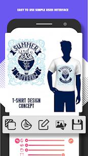 T Shirt Design - Custom T Shirts - náhled