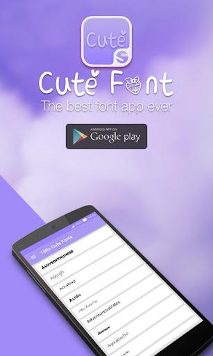 100+ Cute Font ★Root★