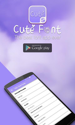 100+ Cute Font ★Root★ - screenshot