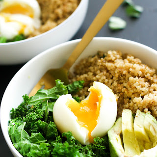 Spicy Quinoa Breakfast Bowl Recipe