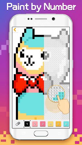 Pixel Artworks - Free Coloring Games 1.4.4 screenshots 2