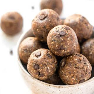 Chocolate Chip Peanut Butter Balls.