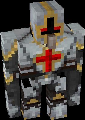 Realistic Iron Golem Nova Skin