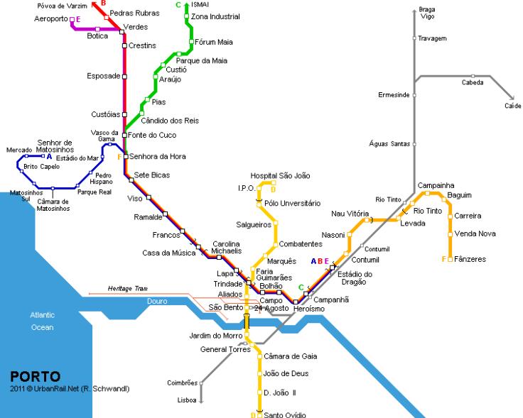 Porto Metro Map Android Apps on Google Play – Porto Tourist Map