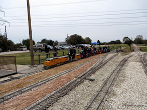 Photo: Return of the first train of the day at 9:15 AM    HALS Public Run Day 2014-1115 RPW