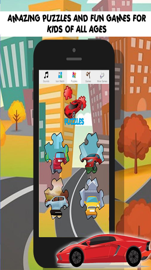 race car games for kids free screenshot
