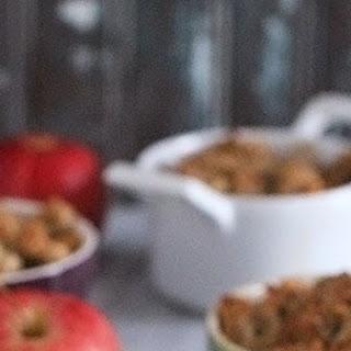Gluten-Free Breakfast Apple Crisp.