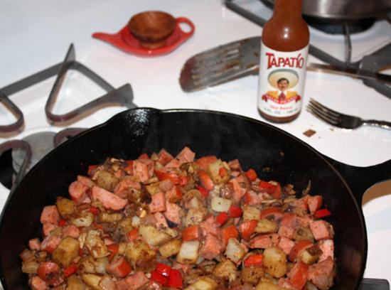 Chicken Sausage Hash Recipe