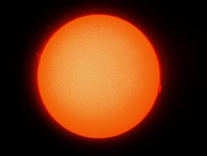 Photo: Il Sole il 29 settembre 2008 alle ore 9:05 (ora locale)