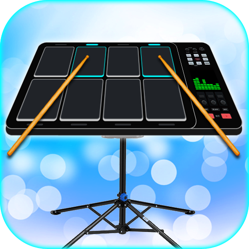 Electro Music Drum Pads Icon