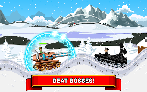 Hills of Steel MOD Apk (Unlimited Coins) 9