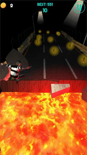 Code Triche Night Runner - Thriller Endless Runner  APK MOD (Astuce) screenshots 2