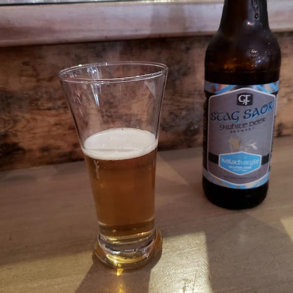 Nine White Deer - A gf beer that tasted like real beer.
