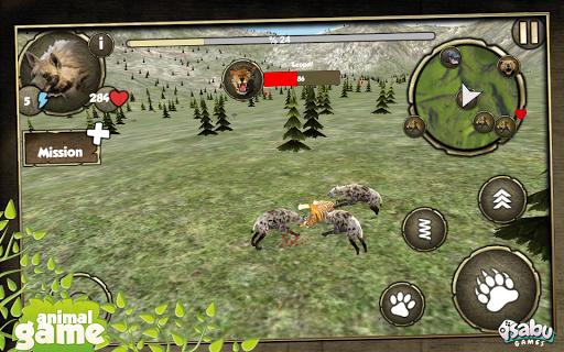 Wild Hyena Simulation