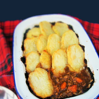Scottish Vegan Cottage Pie.