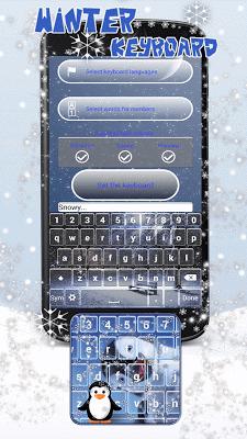 Winter Season Keyboard Themes - screenshot