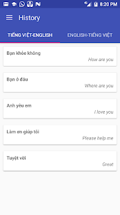 Vietnamese English Translator - náhled