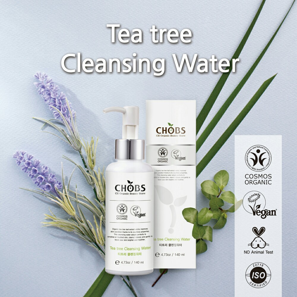 (CHOBS) Tea Tree Cleasing Water 茶樹卸妝水