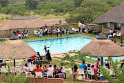 Patrons enjoy themselves at Dinaledi Leisure Resort.