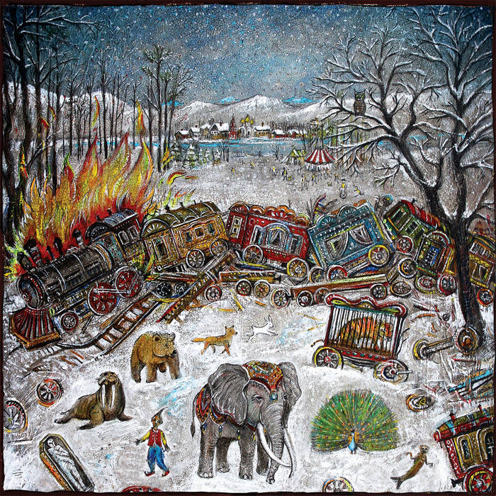 """""""Ten Stories"""" album cover by mewithoutYou"""