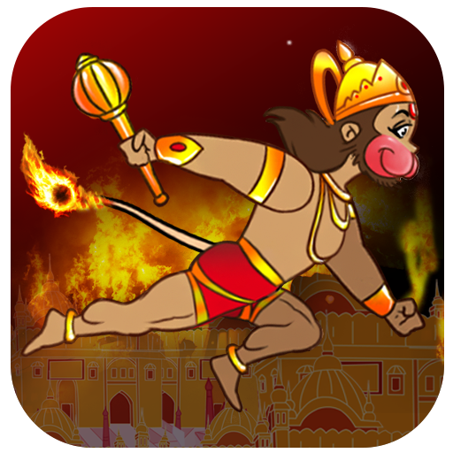 Hanuman To Lanka Icon
