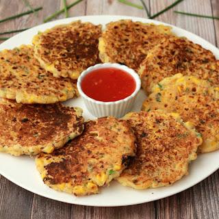 Vegan Corn Fritters