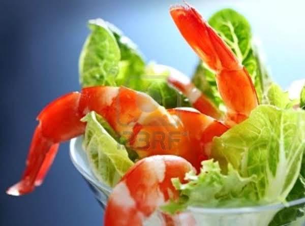 Boiled Shrimp With Creamy Buttermilk  Avocado Sauce