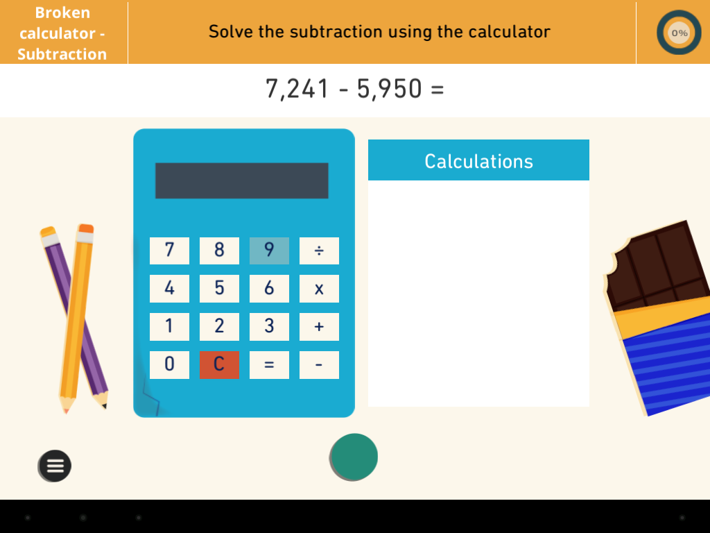 Calculandox: Maths by OX- screenshot