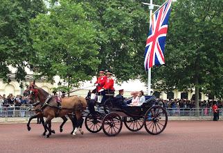 Photo: Kate, Camilla and Harry waving at us!