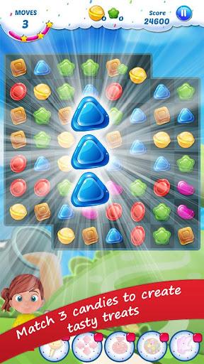 Gummy Candy - Match 3 Game screenshots 1