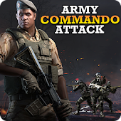Army Commando Attack - Sniper Shooting Game