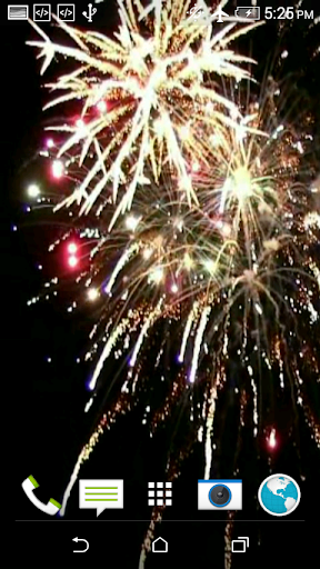 Firework 3D Video Wallpaper