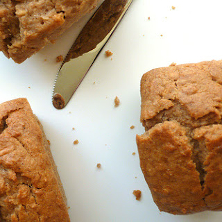 Apple And Chestnut Mini Loaves With Hazelnut Sauce